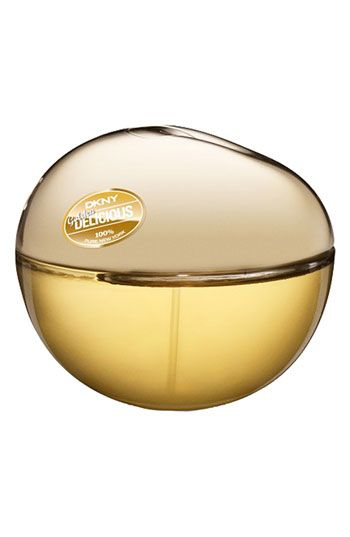 DKNY Golden Delicious - One of my two fav fragrances right now...light and refreshing while still being luxurious...and a little seductive! (Men seem to love it!)