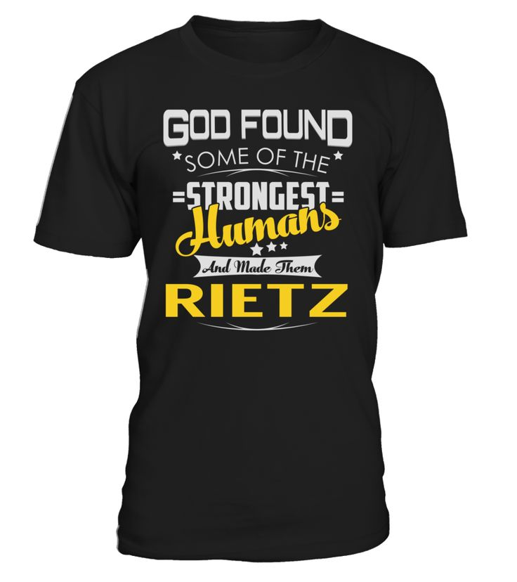 God Found Some of the Strongest Humans And Made Them RIETZ #Rietz