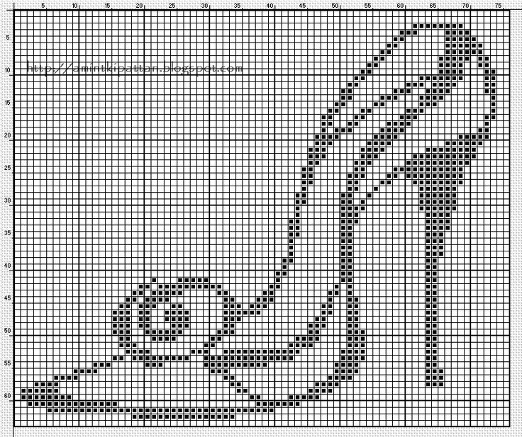 chaussure - shoes - escarpin - point de croix - cross stitch - Blog : http://broderiemimie44.canalblog.com/
