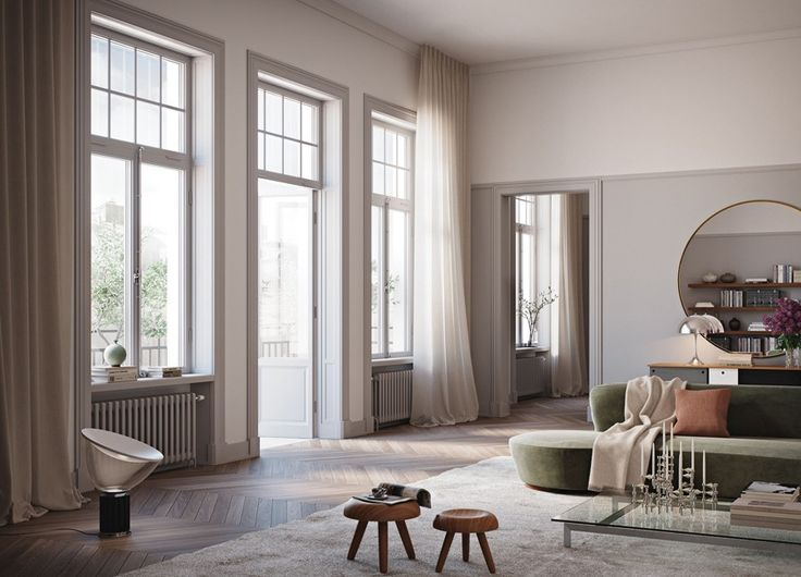 Oscar Properties - living room design