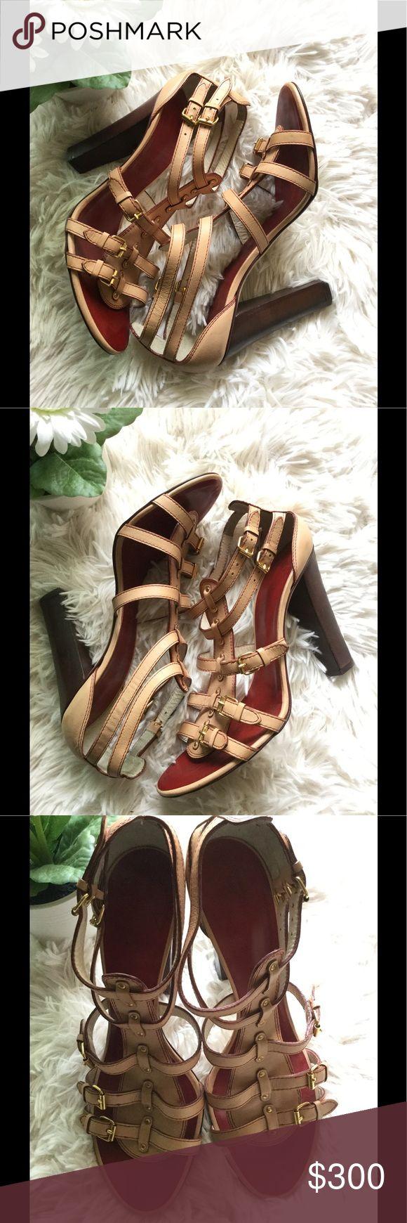 🌹Giuseppe Zanotti rose gold -brown Heels 🌹 🌹Giuseppe Zanotti rose gold - brown Heels in pristine condition 🌹 Giuseppe Zanotti Shoes Heels
