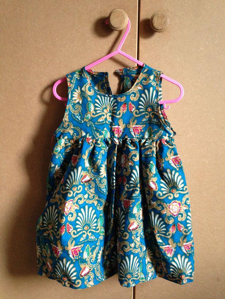 Beautiful Batik Print dress