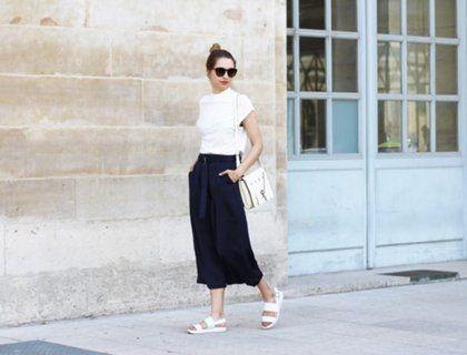 Кюлоты женские (50 фото) — С чем носить модные брюки? — avrorra.com