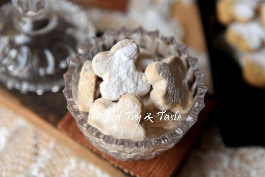 Just Try & Taste: Resep Kue Kering Putri Salju