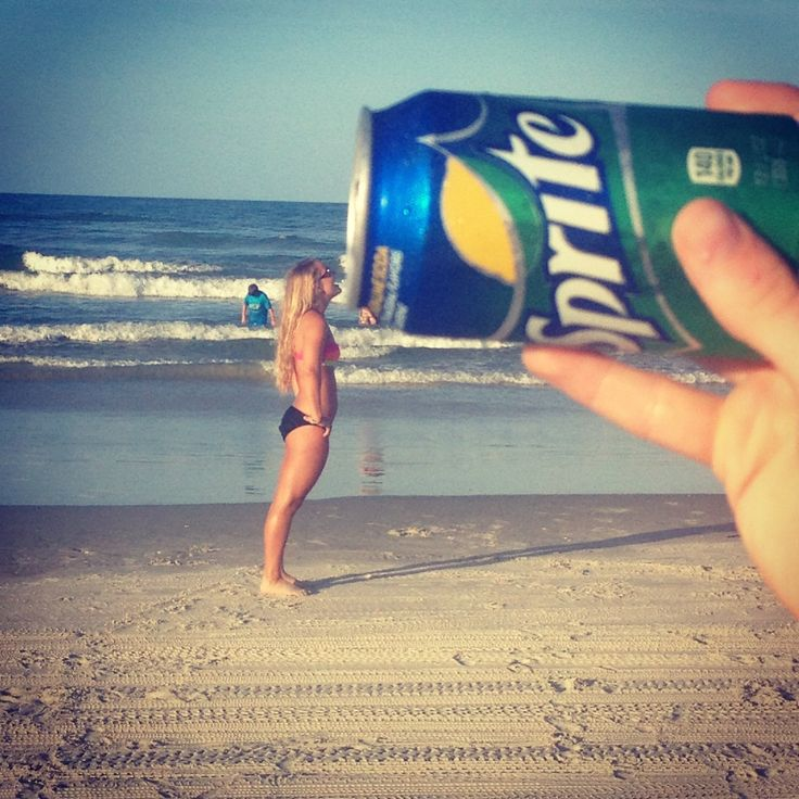 Beach photos - lol this is awesome! Do a sun drop 'drop it like its hot' photo!