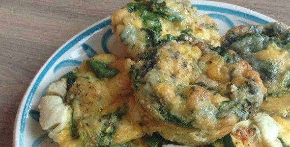 Succes receptje!! En al meerdere keren gemaak deze maandt: ei muffins. Simpel en snel. I like (klik op foto voor het recept)