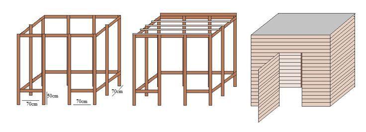 ber ideen zu ger tehaus holz auf pinterest. Black Bedroom Furniture Sets. Home Design Ideas