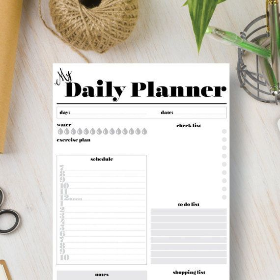 Check out this printable daily planner to get you organized. Buy now and print a new one each day. For more details and to get yours click Visit. Daily Planner Ideas | Daily Planner Pages | Daily Planner DIY | Daily Planner Best | Daily Planner Student | Daily Planner Inspiration | Daily Planner Work | Daily Planner Kids