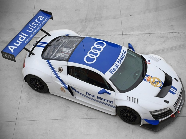 Audi представила R8 LMS Ultra Real Madrid Edition