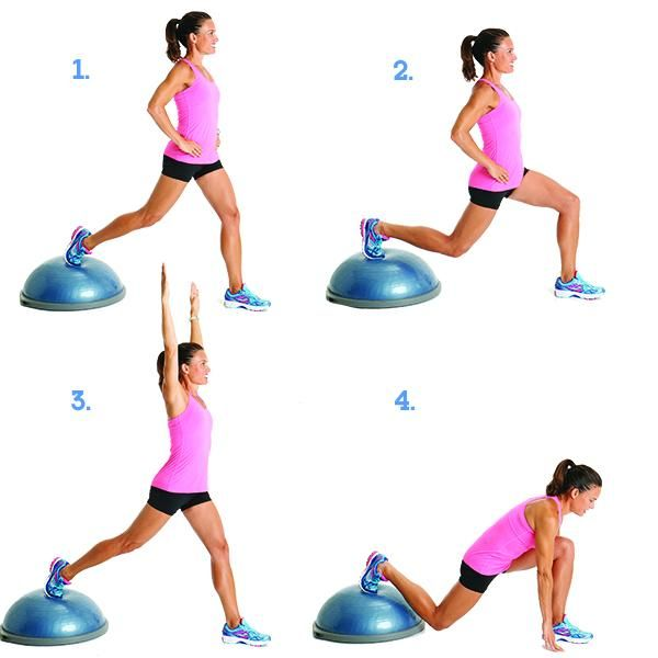 Bosu Ball Burpee Jump: 10 Moves That Target Cellulite