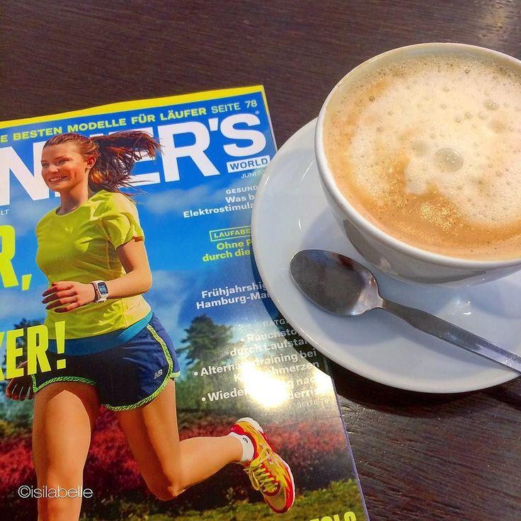 Coffee & magazine time #goodmorning #goodfood #frühstück #breakfast #coffee#coffeetime #plantbased #plantstrong #picoftheday #photooftheday #instarunner #instafollow #instagood #instafit #run #runners #isilabellefitness #vegan#vegansofig #fit #fitnessaddict #fitfam #fitspo #asicstrainingsquad #hclf #cleaneating #eatclean #happy