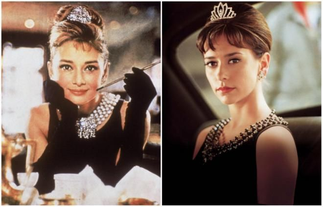 <p>Audrey Hepburn από τη νεαρή Jennifer Love Hewitt<br /> «The Audrey Hepburn story» 2000</p>