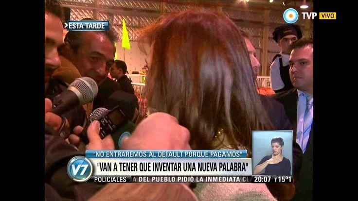 "Visión 7 - Cristina: ""Argentina no va a entrar en default"""