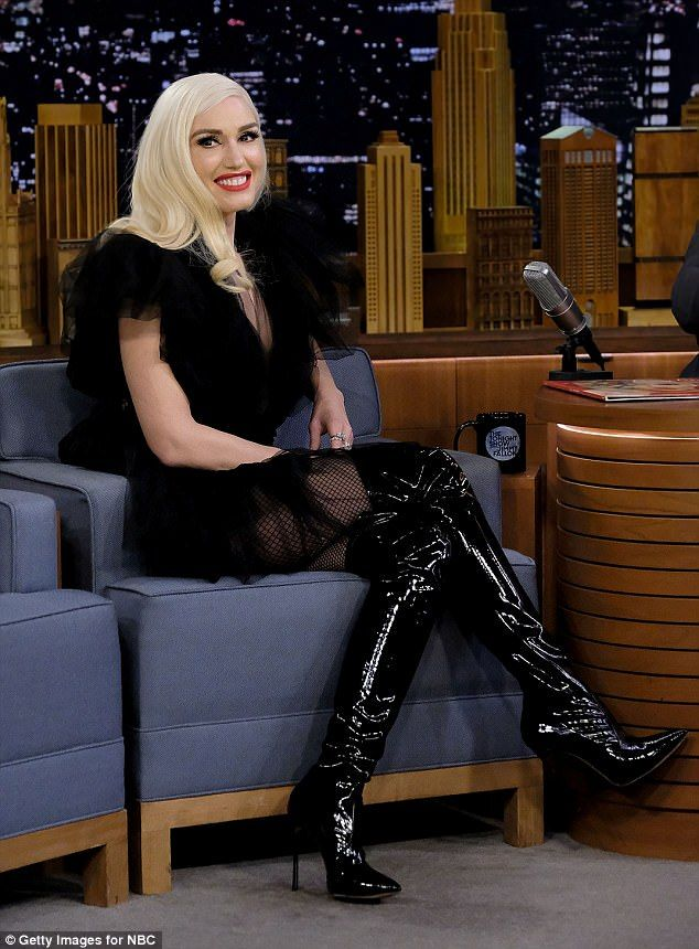 Gwen Stefani Takes The Stage On The Tonight Show With
