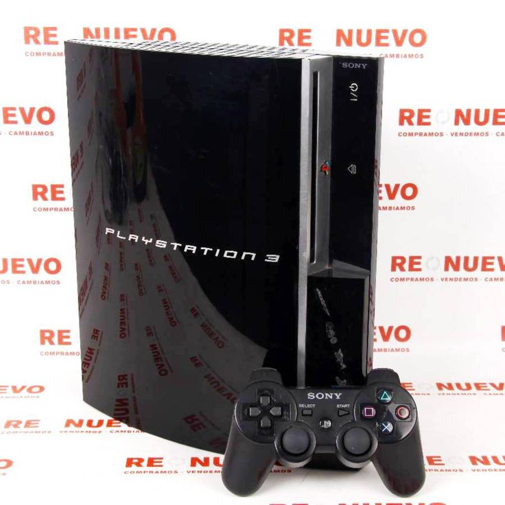 Consola PS3 Fat de 80Gb + Mando Sony E266931# Consola#de segunda mano#PLAYSTATION 3