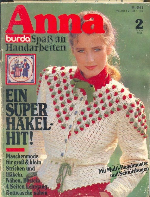 ANNA BURDA Spaß an Handarbeiten 1983 2
