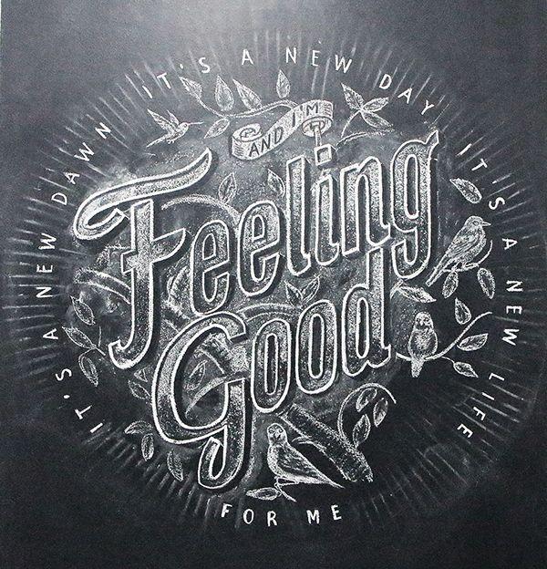 Feeling Good! on Behance by Antonio Rodrigues Jr