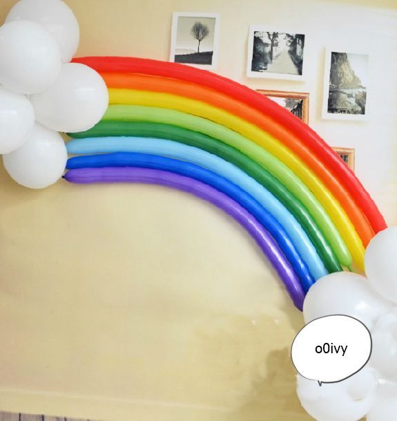 Celebración fiesta de cumpleaños globo Magia largo-fondo conjunto de Arco Iris   Hogar y jardín, Tarjetas y suministros para fiestas, Suministros para fiestas   eBay!