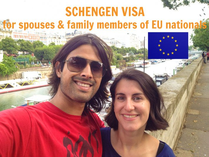 Schengen visa for spouses / family members of EU nationals!