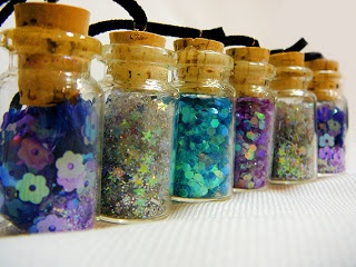 How to make Fairy Bottles and Fairy Dust Recipes