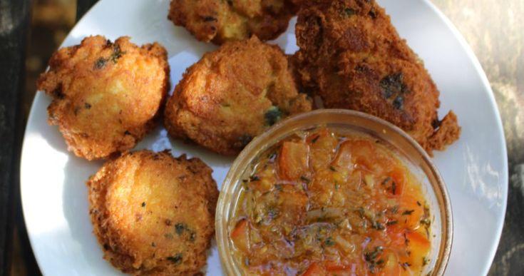 Bonbon Piment aux Pois Chiches et Farine de Manioc