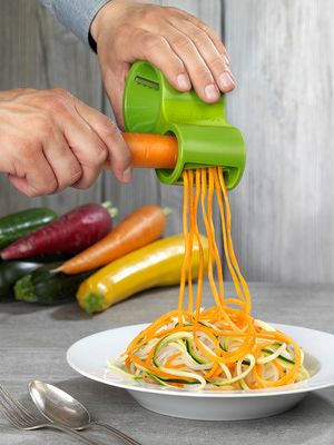 The lowdown on spiral vegetable cutters: Microplane Spiral Cutter