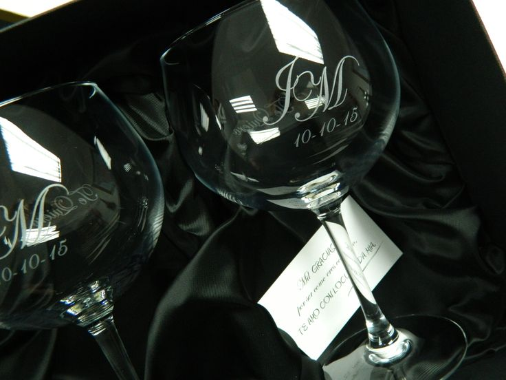 Copa para Gin-Tonyc personalizada con su nombre, inicial o frase que prefiera. Copa Magnum