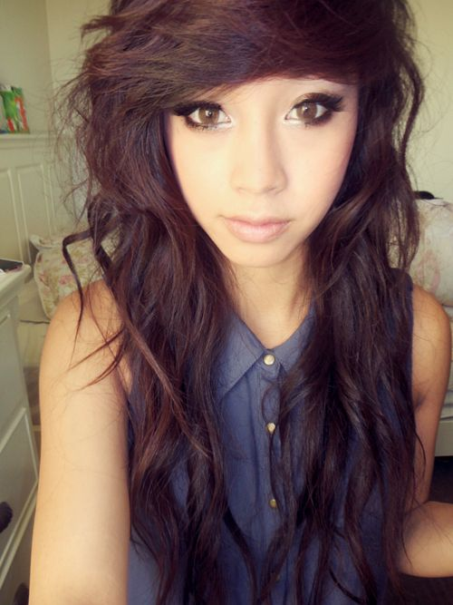 I can't wait to get my hair this long! :) it looks like this too when its really long! :)