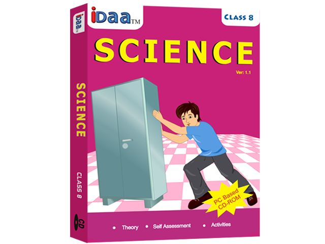 Learn Science the fun way through IDAA Learning CBSE Science Class-6 Educational CDs.CDs are easy to understand with various diagrams & experiments.