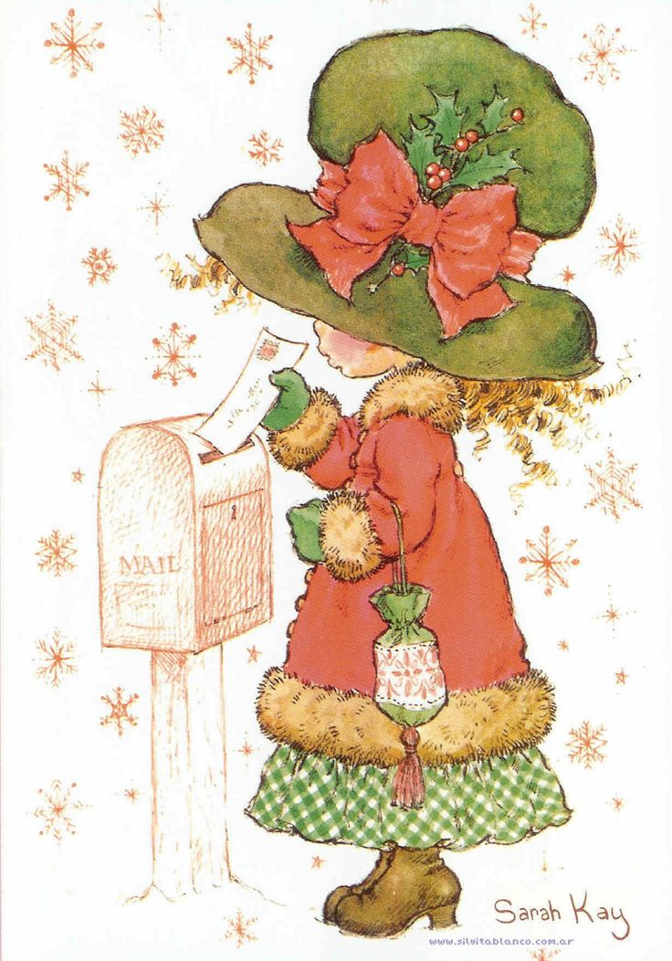 Sarah Kay Celebración de Navidad