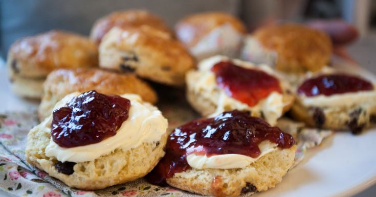 Twists are fun but sometimes it's nice to stick to to the classics. These are the easiest, most delicious classic scones and the only twist it whether you choose cream or jam to go on it first!
