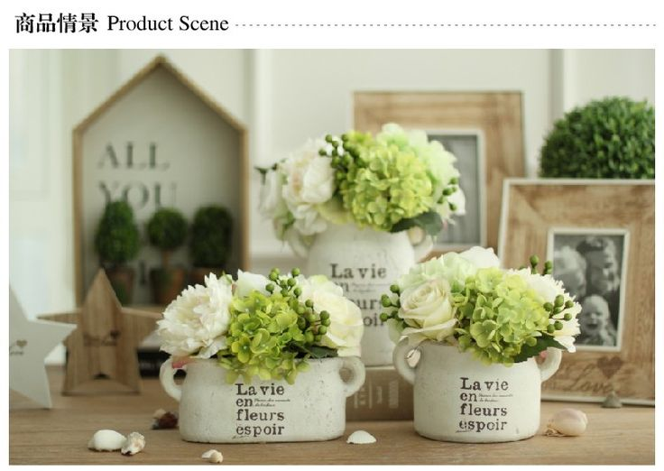 Decorative Artificial Flowers In Vase For Sale Online