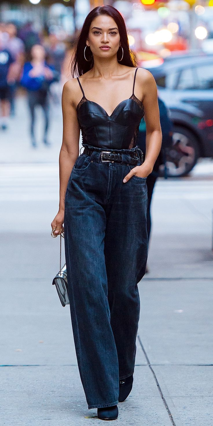 Look of the Day - shanina shaik from InStyle.com