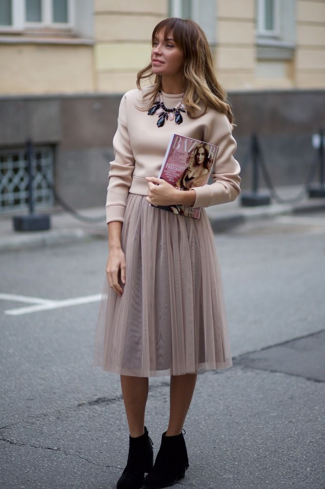 Modest Tulle Skirt