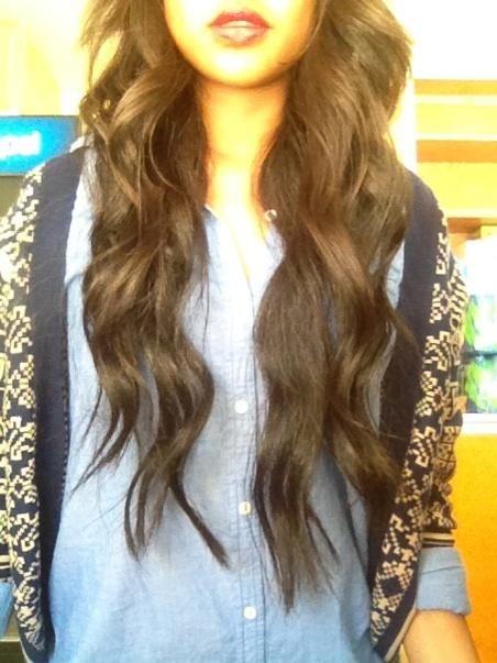 : Loose Curls, Perfect Waves, Dreams Hair, Wavy Hair, Hair Makeup Nails, Long Hair, Hair Style, Hair Length, Long Curly