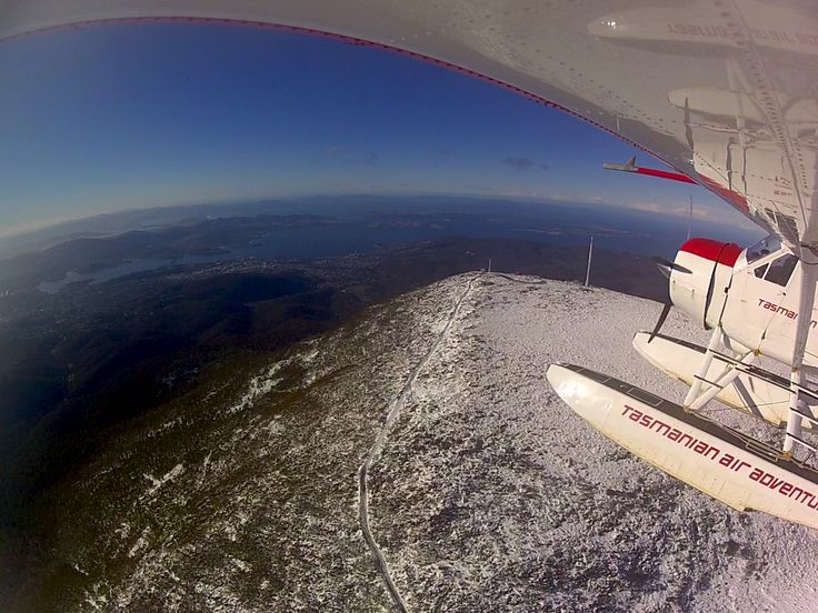Mt Wellington and the beautiful city of Hobart nestled below