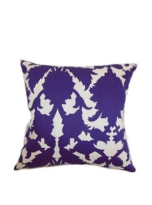 43% OFF The Pillow Collection Fakahina Damask Pillow, Amethyst