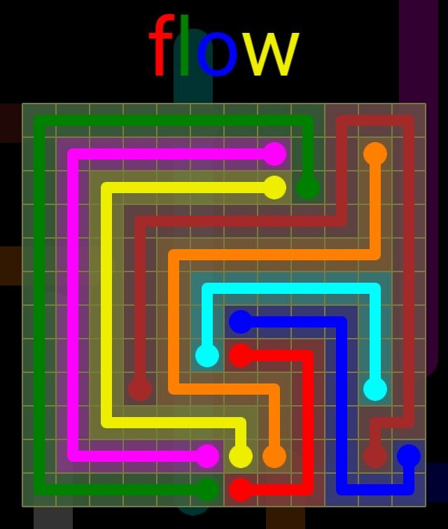 Flow Extreme Pack 2 - 12x12 - level 22 solution
