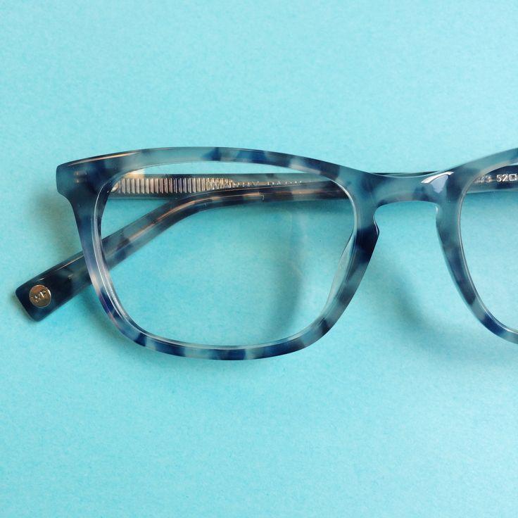 Glasses Frames In Blue : Welty Eyeglasses in Eastern Bluebird Fade for Women ...