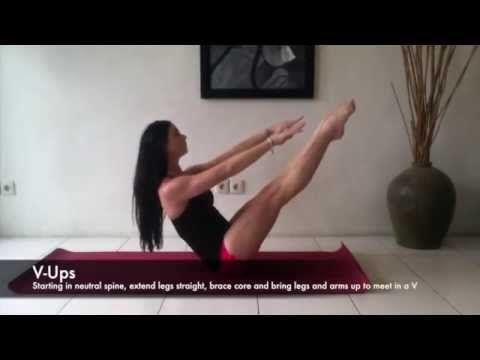 Ballet Strength - Ballet Core Exercise - YouTube