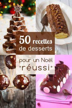 ❈ L'apothéose du repas de fête : le dessert de Noël ! ❈ #noel #dessert #recette