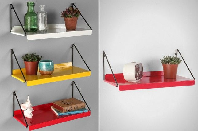 Modern Wall Shelf via Brit + Co.