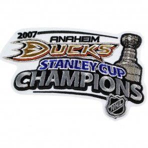 2007 NHL Stanley Cup Champions Jersey Patch Anaheim Ducks