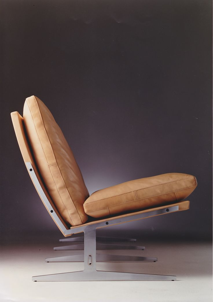 bo-563 3-seater sofa. Designed by Preben Fabricius & Jørgen Kastholm, 1963. #timeless