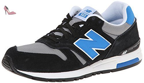 New Balance Life Style Black Grey Mens Trainers Size 8.5 UK - Chaussures new balance (*Partner-Link)