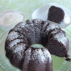 Irish Whiskey Chocolate Bundt Cake