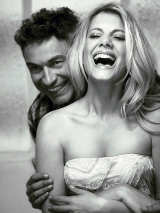 Une star, son maquilleur : Mélanie Laurent et son maquilleur Christophe Danchaud