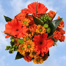 7 best images about fall weddings on pinterest orange for Popular fall flowers