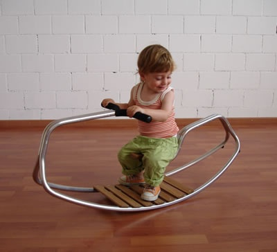 Bobbel Rocking Sculpture   Contemporary   Kids Toys     By Kidsmodern