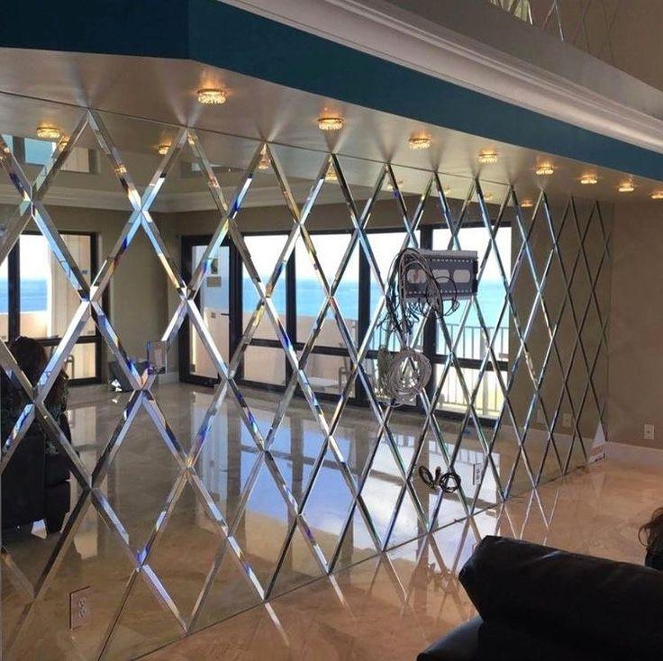 Arbeit Spiegel Wand Innendekoration Innen Haus Spezial